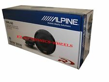 "BRAND NEW ALPINE SPR-60 TYPE R 6 3/4"" 2-WAY 300W CAR SPEAKERS"