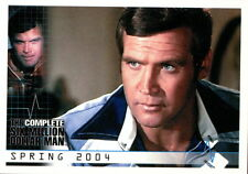 SIX MILLION DOLLAR MAN, THE COMPLETE 2004 RITTENHOUSE ARCHIVES PROMO CARD P1