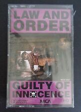 LAW AND ORDER Metal Rock GUILTY OF INNOCENCE Music Cassette NEW Free Ship 1989