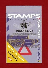 1993 Australia Booklet SG SB 80 Indopex overprint
