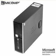 Fast HP Desktop Computer PC Core 2 Duo 3.0Ghz 16GB RAM 120GB SSD DVD Win 10