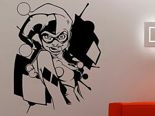 Harley Quinn Wall Sticker Vinyl Decal Comics Superhero Art Kids Room Decor 1hzz
