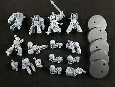 40K Dark Vengeance : Space Marines Dark Angels Deathwing Terminator Squad