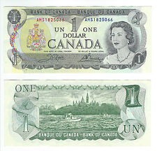 Canada 1973 (One) $1 Dollar Bill Canadian Note Mint Uncirculated CRISP