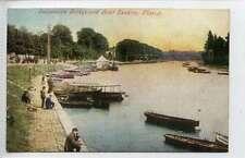 (Ld428-343)  Suspension Bridge and Boat Landing, CHESTER,  c1910  Unused VG