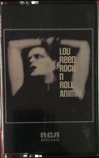 LOU REED ROCK N ROLL ANIMAL CASSETTE TAPE RARE RCA APK1-0472