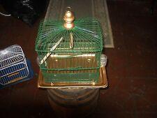 vintage antique star bird cage