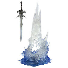 """FROSTMOURNE - World of Warcraft 11"""" Action Figure Light Up Collectable Figurine"""