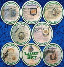 komplette Bierdeckel Serie Lasser Lörrach 1984 Alte Wirtshausschilder N03 BS:A