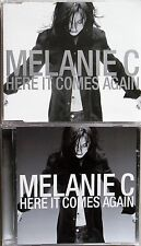 MELANIE C * HERE IT COMES AGAIN * UK CD/DVD SET * HTF! * REASON * SPORTY SPICE