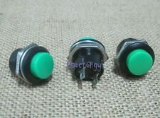 Green Momentary Push-Button ON OFF Switch R13-507 10PCS NEW