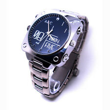 12MP HD 1080P Sound-Activated Spy Watch Camera Night Vision DVR Mini DV 16GB A10