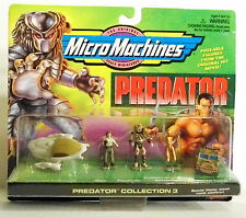 PREDATOR MicroMachines, Colllection # 3. Spaceship, Predator, Dutch, Anna. 1996