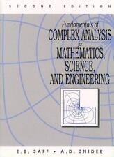 Fundamentals of Complex Analysis for Mathematics, Science And Engineering (2nd E