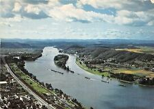 BR2040   Drachenfels on the Rhine valley with Nonnenwerth island  germany