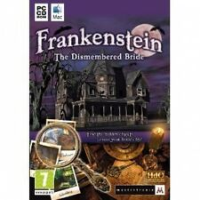 FRANKENSTEIN The Dismembered Bride ( PC GAME ) NEW SEALED