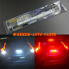 1x 30-SMD LED Lamp White/Red For License Plate Light,Backup Light or Brake Light