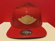 Nike Air Jordan Just Don 2 Beach Pack Hat ONLY Red strapback leather snapback