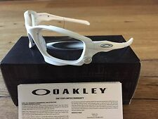 New Oakley CUSTOM Racing Jacket( Jawbone) Matte White Frame Only