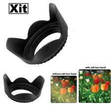 52mm Tulip Flower Lens Hood For Nikon D5500 D5300 D5200 D5100 D3300 D3200 D3100
