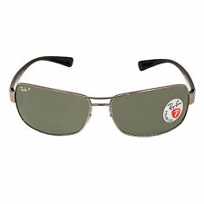Ray-Ban RB 3379 004-58 64 Gents Gunmetal Frame Green G-15 Sunglass