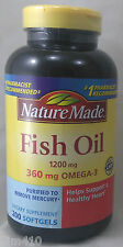 jlim410: Nature Made Fish Oil 1200mg, 200 softgels Exp.12/2017 cod ncr/paypal