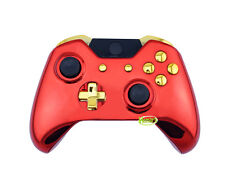 Iron Man Chrome Full Custom Replacement Xbox One Controller Shell Mod Kit Cover