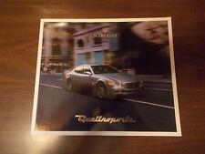 2004 Maserati Quattroporte 38-page Prestige Sales Catalog
