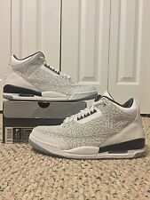 NEW AIR JORDAN RETRO 3 FLIP sz 9.5 2006 WHITE CEMENT III NIKE AIR TRUE BLUE BRED