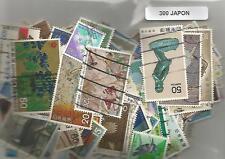 Lot  de 300 timbres du Japon