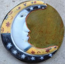 Moon Stone 2, stepping stone,  plastic mold, concrete mold, cement, plaster