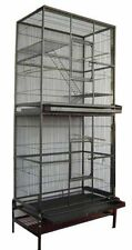 Double Stackable Bird Cockatiel Sugar Glider Wrought Iron Animal Large Cage 543