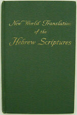 New World Translation Scriptures Vol 4 1958 Bible Watchtower Jehovah
