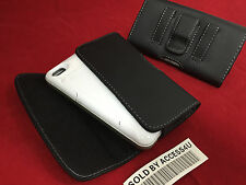 LEATHER CASE HOLSTER BELT CLIP POUCH FOR IPHONE 6 PLUS 5.5 EXTENDED BATTERY CASE
