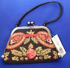 """KATE LANDRY Prom Evening Purse Floral Pocketbook Bag Clutch """"SPRING MAY"""" NWT"""