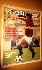 LA GAZZETTA DELLO SPORT ILLUSTRATA-ANNO 2 # 37 - 16 SETTEMBRE 1978 - INTER-MILAN
