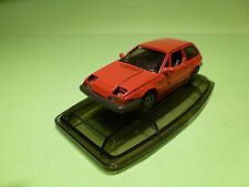 AHC MODELS 1:43 VOLVO 480 ES 480ES - RED - RARE SELTEN - VERY GOOD ON COASTER