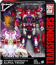 Transformers Generations Titans Returns Voyager Triple Change Alpha Trion Rare