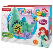 FISHER-PRICE LITTLE PEOPLE DISNEY PRINCESS ARIEL'S CASTLE PLAYSET GIFT OFFICIAL