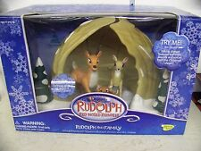 Rudolph the Red Nose Reindeer Family Cave Set  Special 24 Hr. Sale