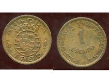 ANGOLA  ( PORTUGAL )  1 escudo  1963  ( bis )
