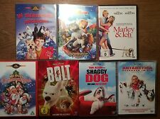 Disney MGM Hundefilme [ 7 DVD ] Antarctica Shaggy Dog Bolt All Dogs Christmas