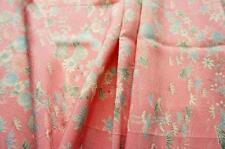 *Light Pink* Vintage Japanese Silk Kimono Fabric