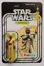 PALITOY 1977 VINTAGE SAND PEOPLE TUSKEN ON STAR WARS 12 BACK A NEW HOPE CARD