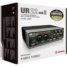 Steinberg UR22 MKII USB Audio Interface w/ Cubase AI DAW software