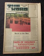 1969 Ungarbled Word of New Orleans Underground Newspaper v.2 #6 VG Suno Students
