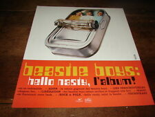 BEASTIE BOYS - PUBLICITE / ADVERT HELLO NASTY !!!!!!!!!