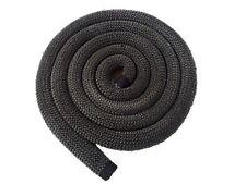 Drm 25 mm, Ofen Dichtschnur, 1,50 m, Kamindichtung, schwarz, Dämmstoffe