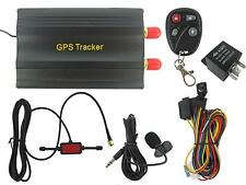 H01 TK103B Quad-Bands GPS/GPRS/GSM/SMS RealTime Car Vehicle Track Tracker System