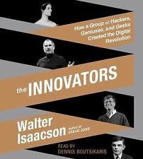 The Innovators by Walter Isaacson Audiobook Used